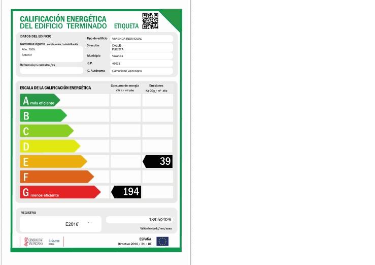 Certificados de Eficiencia Energética