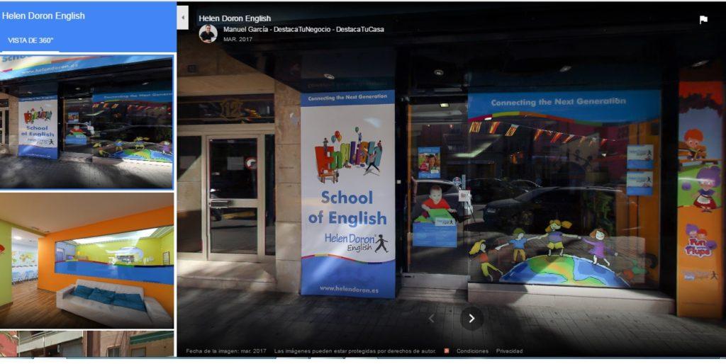 Visita Virtual Helen Doron English- DestacaTuNegocio
