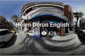 Visualizciones Helen Doron Street View