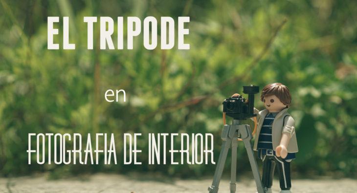 El trípode en fotografía de interior