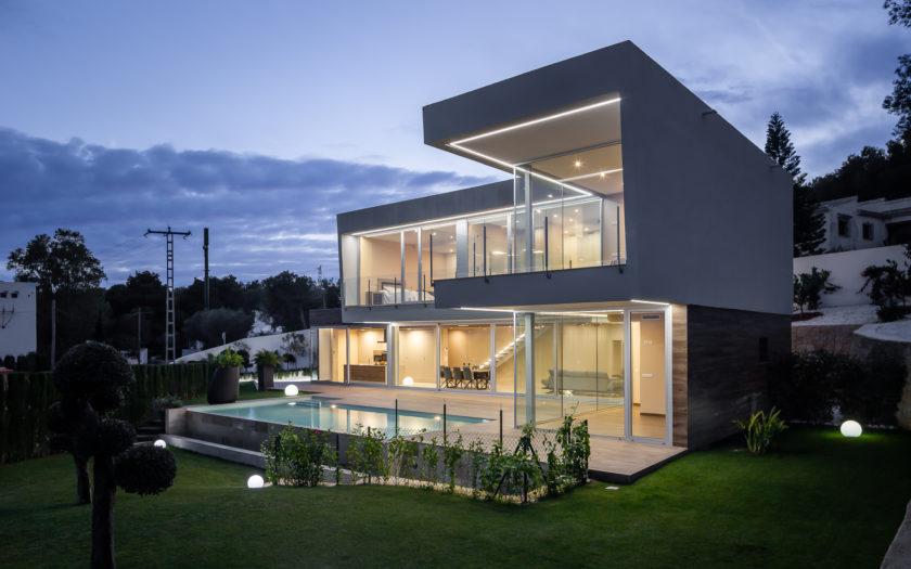 Fotografia de Arquitectura e Interiores, Villa Pomphei, Costa Blanca